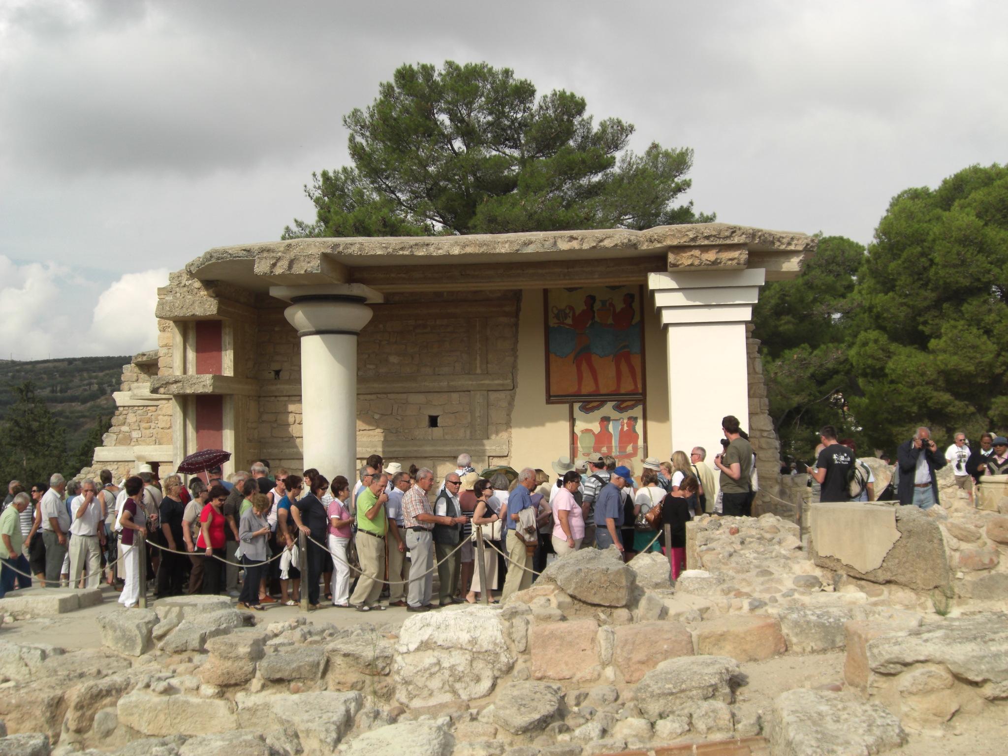 Escursione a Knosso e città di Heraklion