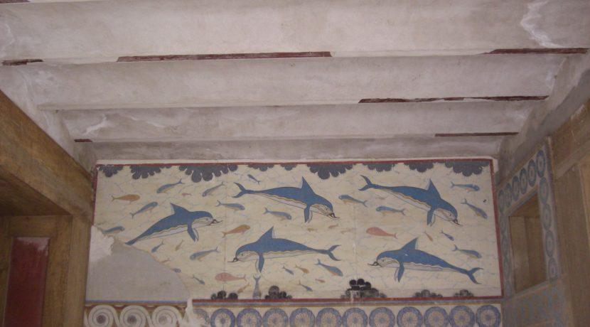 famoso affresco dei Delfini