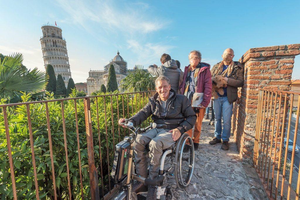 """Progetto """"Itaca"""" a Pisa con itinerari turistici accessibili in una webmap"""