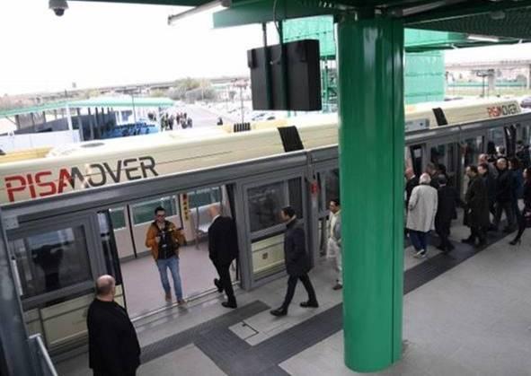 PISA MOVER DALL'AEROPORTO ALLA STAZIONE DI PISA