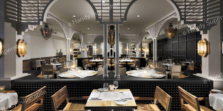 Restaurante de cocina mediterránea Kasbah (¡nuevo!)