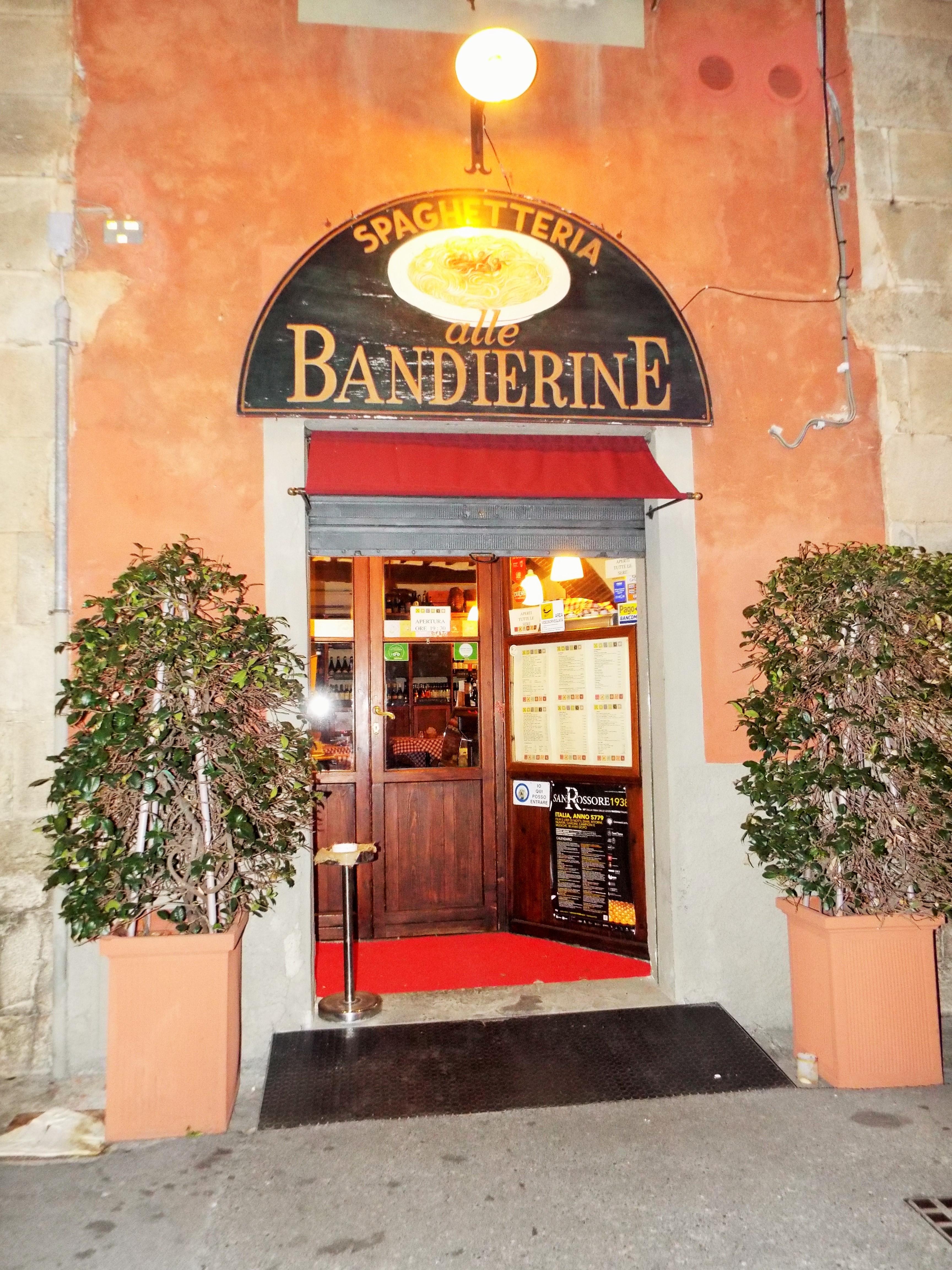 RISTORANTE LE BANDIERINE – Pisa