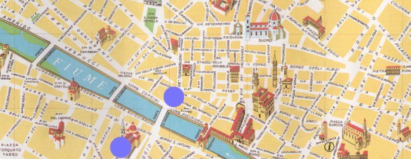 guida turisitica firenze map