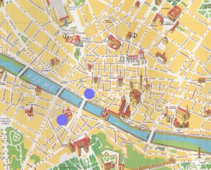 mappa guida turisitica firenze