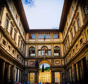 guida turistica firenze uffizi